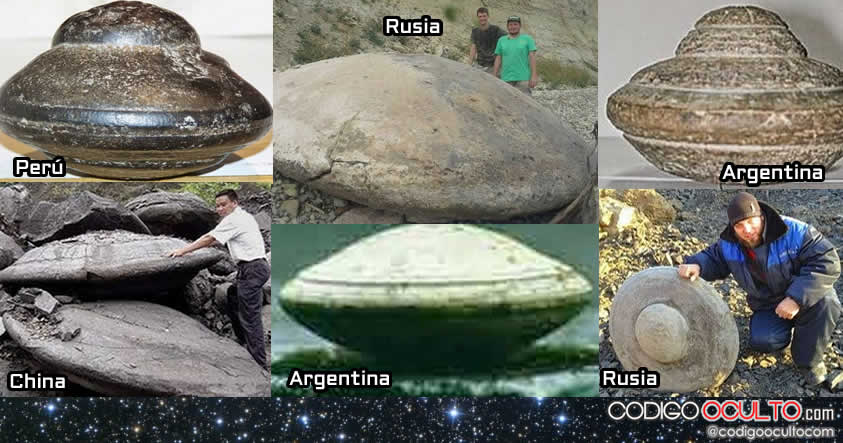 Las Rocas con forma de OVNI o UFO Rocks... replanteando nuestra historia