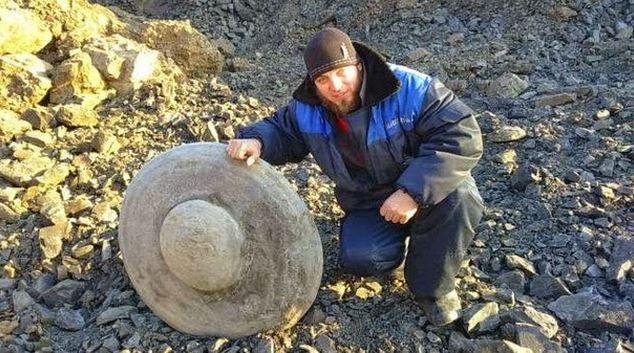 Roca OVNI en Rusia