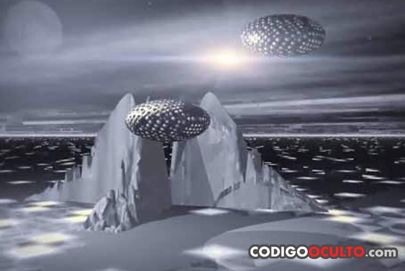 Ubicación y descripción de 19 bases extraterrestres en la Zona Ártica