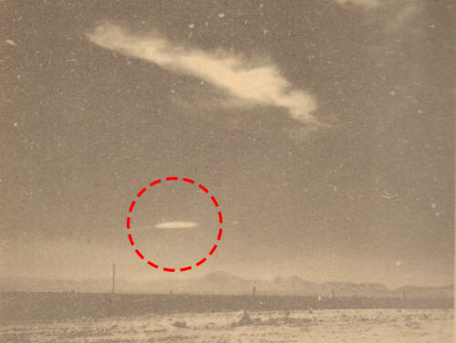 White Sands UFO