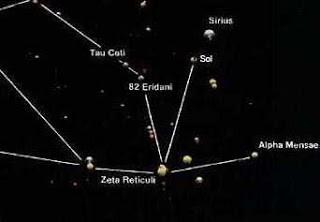 Serpo es un planeta que se encuentra en el sistema binario de estrellas Zeta Reticuli situada en la constelación de Retículo.