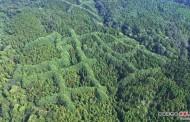Patrones misteriosos descubiertos en una montaña de China ¿Un antiguo mensaje?