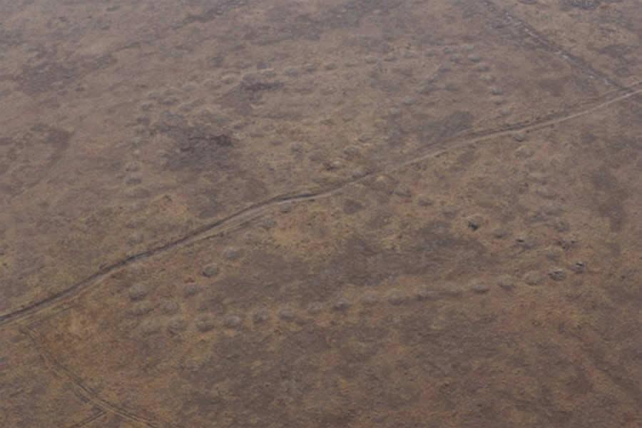 Geoglifos en Kazajistán