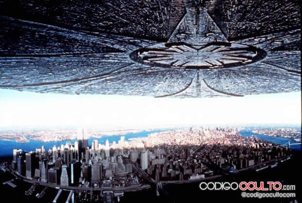 Invasión extraterrestre: Una escena de la película Independence Day.