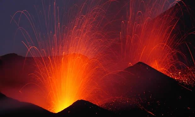 La actividad volcánica intensa podría desatar un megatsunami.