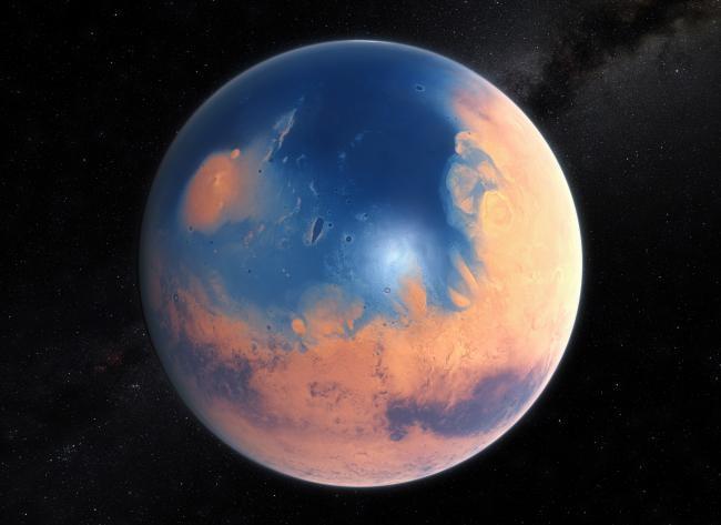 Marte en el pasado