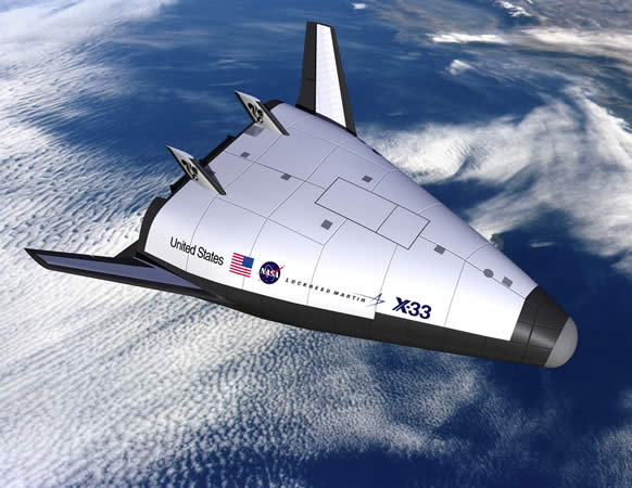 Lockheed-Martin's X-33A