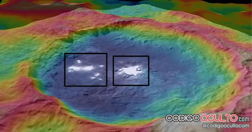 Manchas brillantes en Ceres
