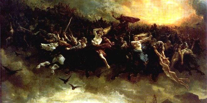 El Ragnarok causará la muerte de los dioses y de casi toda la humanidad. Finalmente el mundo renacerá y una nueva raza poblará la Tierra.