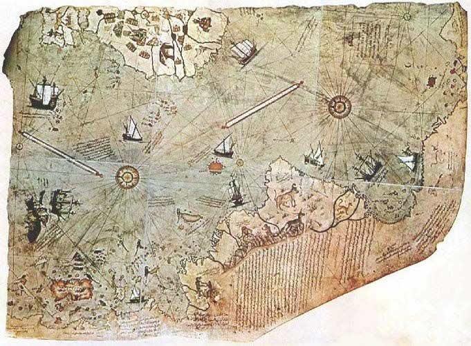 Piri Reis: Mapa Imposible