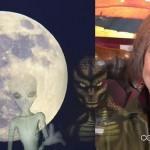 """Ex trabajadora Fuerza Aerea USA: """"Fui abducida y violada en la Luna por Reptilianos"""""""