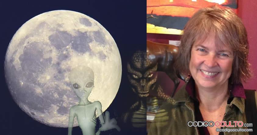 """Ex trabajadora Fuerza Aérea EE.UU: """"Fui abducida y violada por Reptilianos en la Luna"""""""