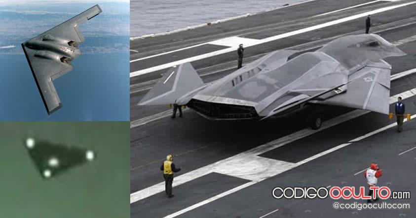 Flota operativa antigravedad actual del Gobierno de Estados Unidos