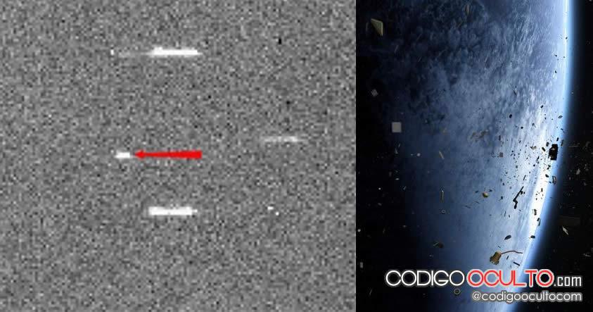 Basura espacial de origen desconocido está en curso de colisión con la Tierra