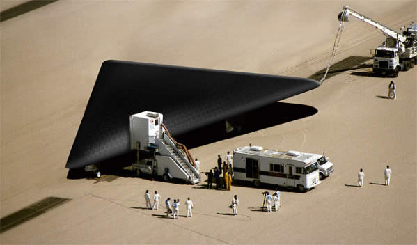 UFO Black Triangle Delta