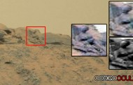 ¿Es esto una estatua de un dios en Marte? Fotografía de NASA lo confirma