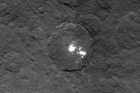 Las misteriosas luces de Ceres