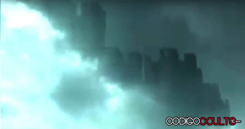 Ciudad flotante aparece en China ¿Proyecto Blue Beam? ¿Mundo paralelo?