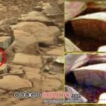 Jeroglíficos encontrados en una roca de Marte ¿Una antigua civilización?