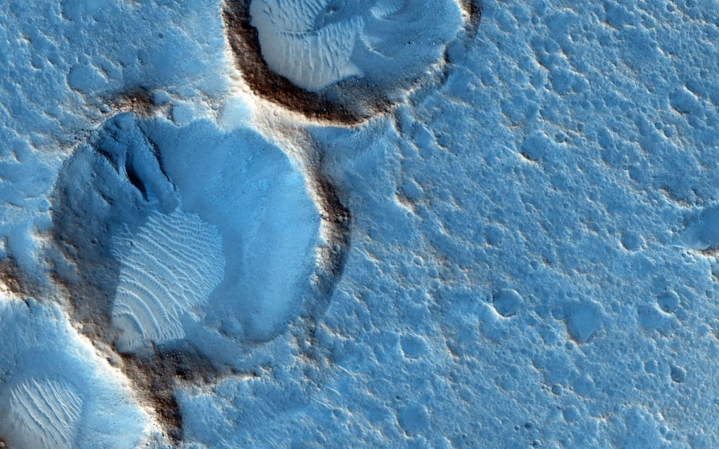 Acidalia Planitia NASA/JPL/University of Arizona