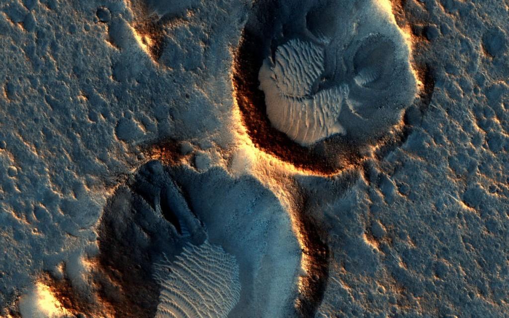 Acidalia Planitia NASA/JPL/University