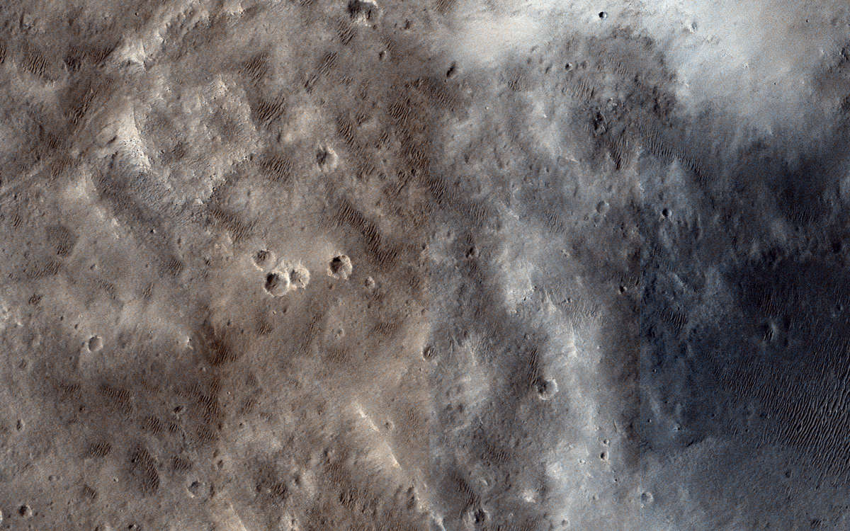 Marth Crater NASA/JPL/University of Arizona
