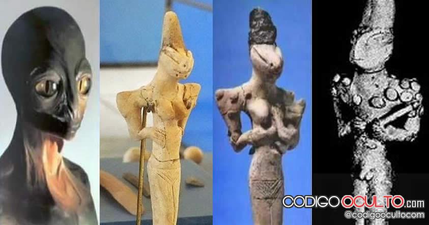 Adoración reptiliana: Las estatuillas Al-Ubaid de 7.000 años de antigüedad