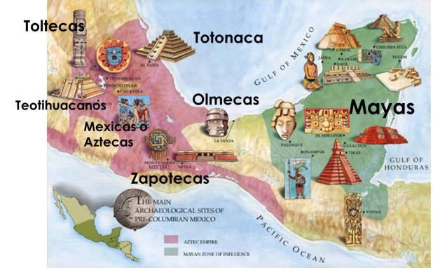 Antiguas civilizaciones de Mesoamérica