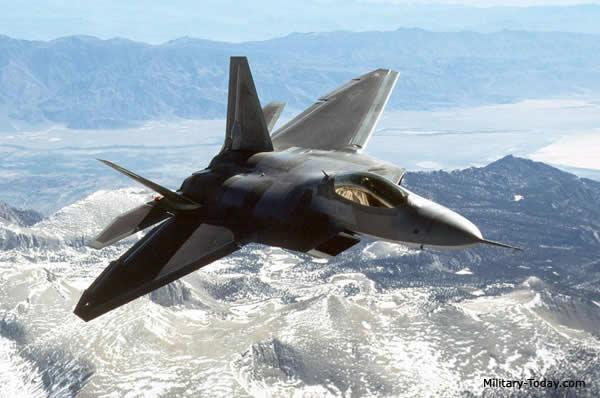 -22 Raptor advanced stealth fighter