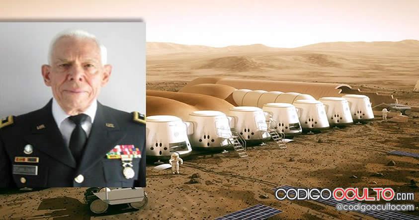 """Ex General de EE.UU: """"Hay estructuras y máquinas bajo la superficie de Marte"""""""