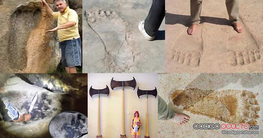 Impresionantes hallazgos de gigantes alrededor del mundo