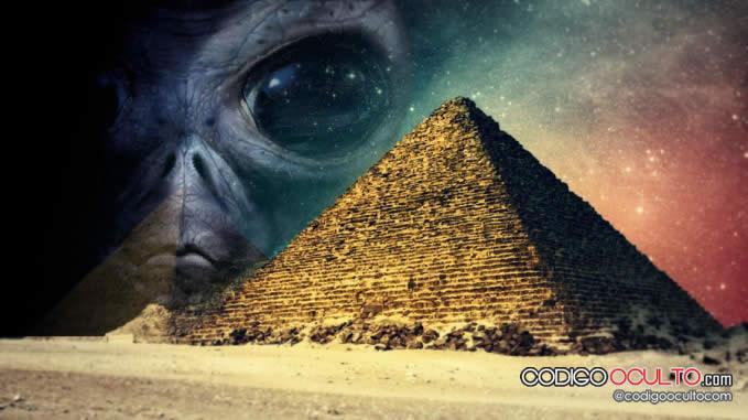 ¿Extraterrestre descubierto en la Gran Pirámide?