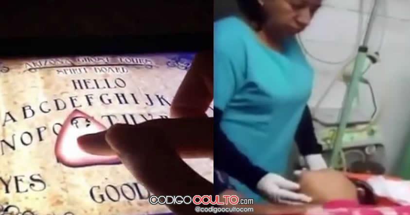 """Mujer de Perú aparentemente poseída luego de """"jugar"""" Ouija en celular"""