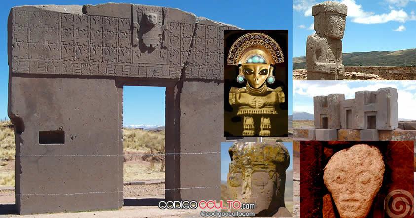 Resultado de imagem para Tiwanaku, Bolívia extraterrestres