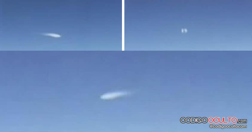 Impresionante avistamiento OVNI captado en vídeo por una asistente de vuelo