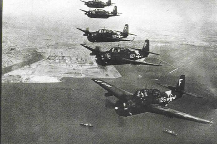 El vuelo 19, el caso de desaparición más conocido ocurrido en el Triángulo de las Bermudas.