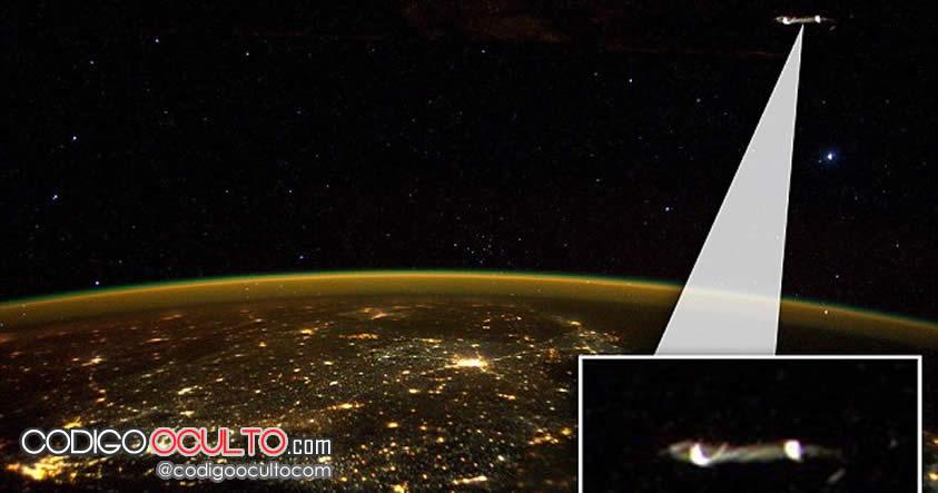¿Un OVNI fotografiado por el astronauta Scott Kelly desde la Estación Espacial Internacional?