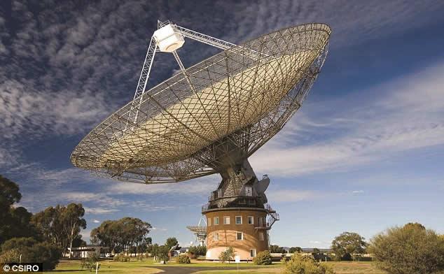 Las últimas señales fueron recogidas por el radiotelescopio Parkes en Australia