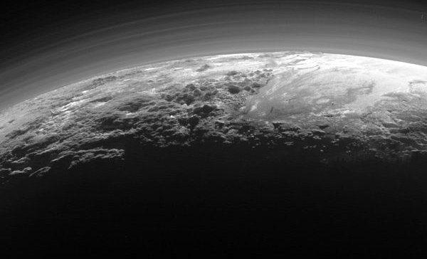 Volcanes de hielo en Plutón