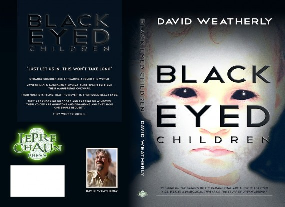 "Portada del Libro ""The Black Eyed Kids"" de David Weatherly."