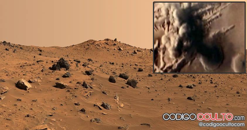 Científicos encuentran indicios de niebla ácida en Marte, ¿evidencia de una guerra nuclear?