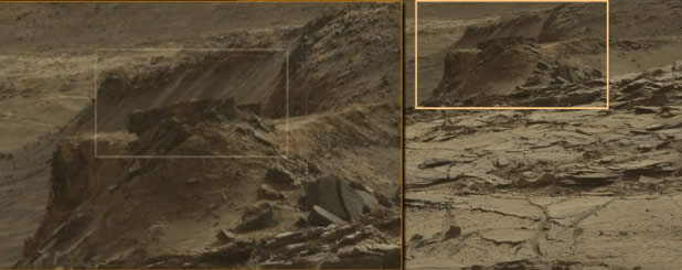 ¿Paredes artificiales en Marte?