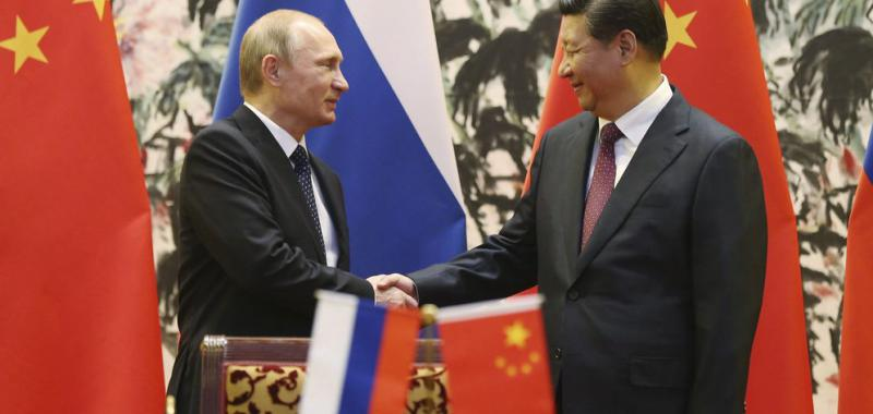 Pacto de Rusia y China