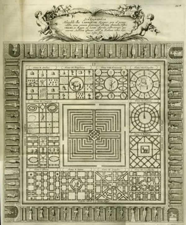 El antiguo laberinto egipcio