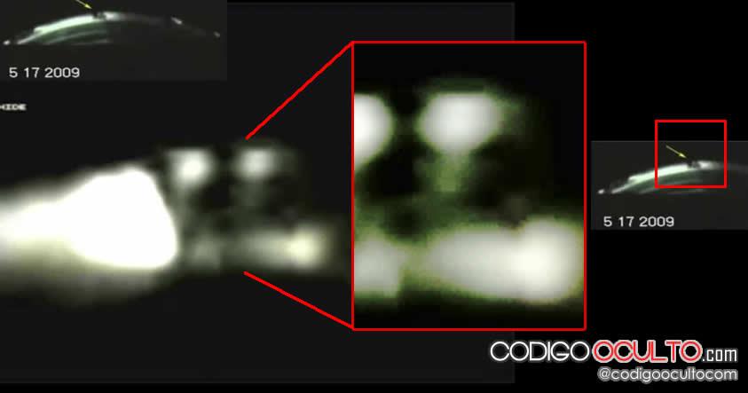 Único: Un posible ocupante o piloto de un OVNI captado en vídeo