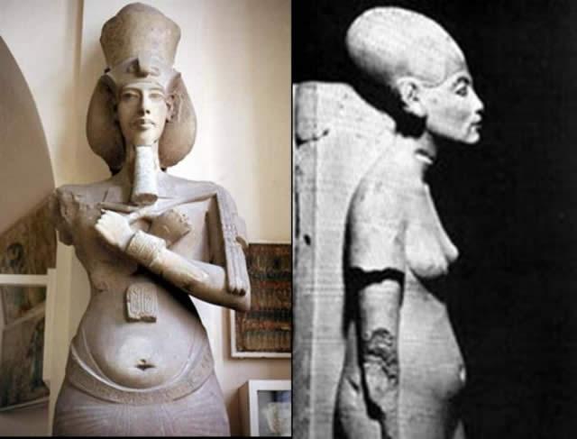 Akenatón, ¿un faraón extraterrestre?