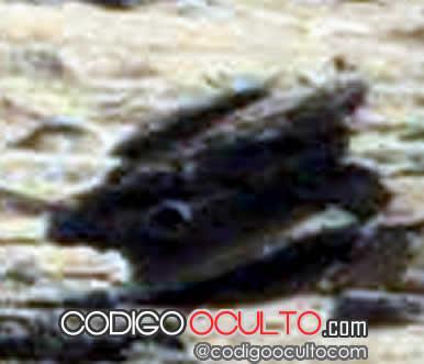 Artefacto encontrado en Marte