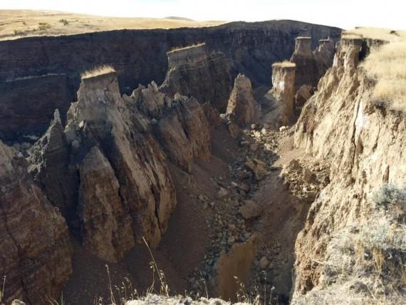 Grieta en Wyoming