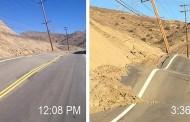 Una carretera en California se