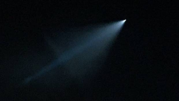 ¿Se trata de un misil de pruebas lanzado sobre California?